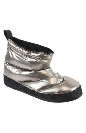Capezio H27W Adult Pewter Sheen Glam Warm Up Boots