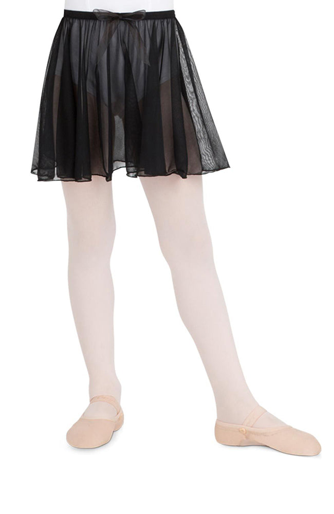 Capezio N1417C Child Black Circular Pull On Skirt