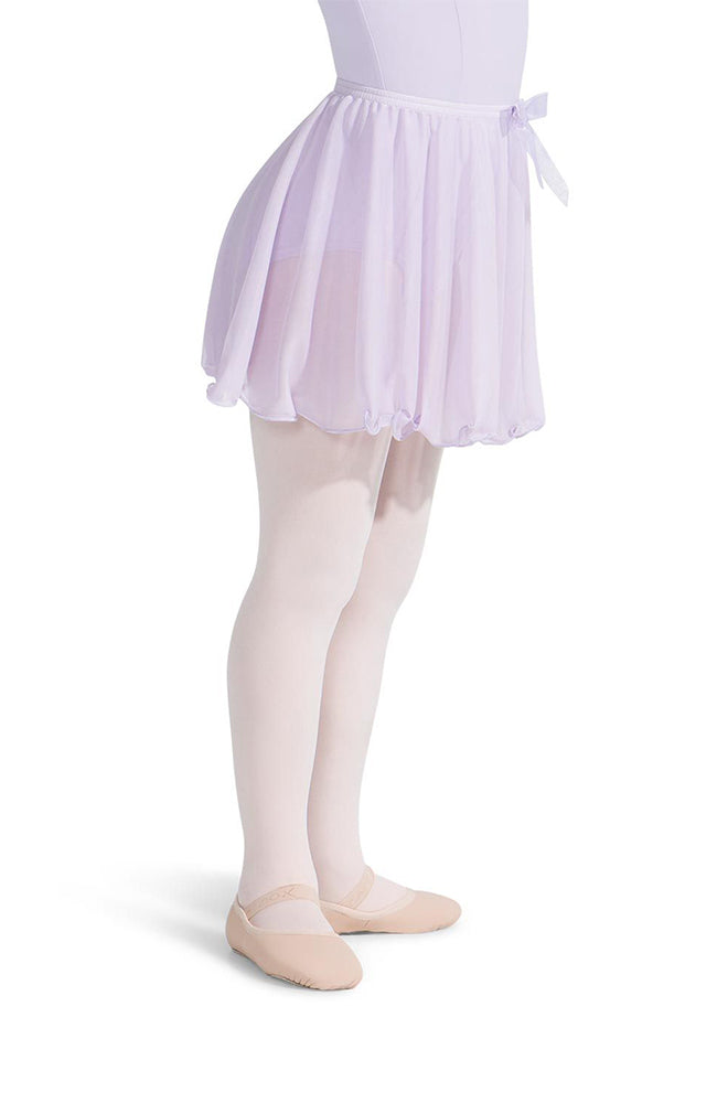 Capezio N1417C Child Lavender Pull On Single Layer Skirt