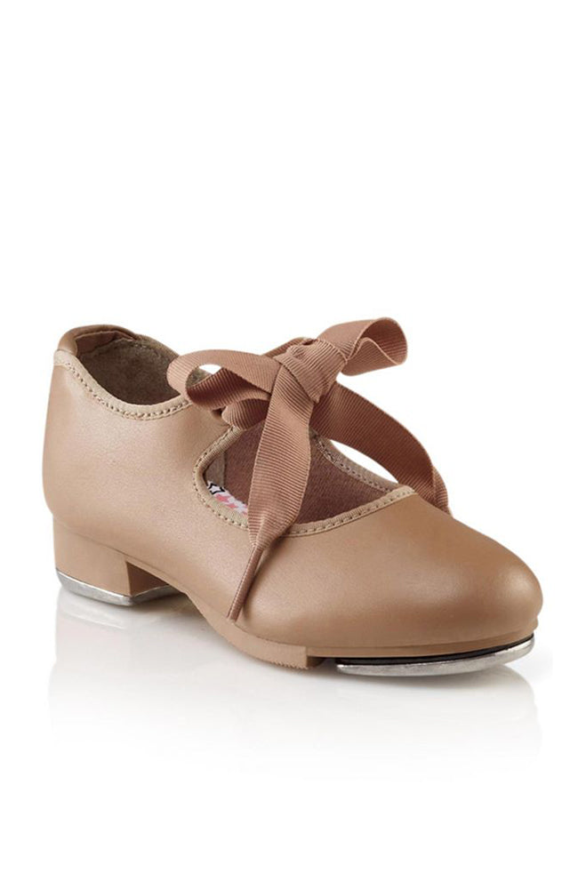 Capezio N625C Caramel Jr. Tyette Child Tap Shoes