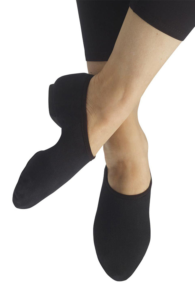 Capezio PP17 Adult Black EOS Stretch Canvas Split Sole Jazz Shoes