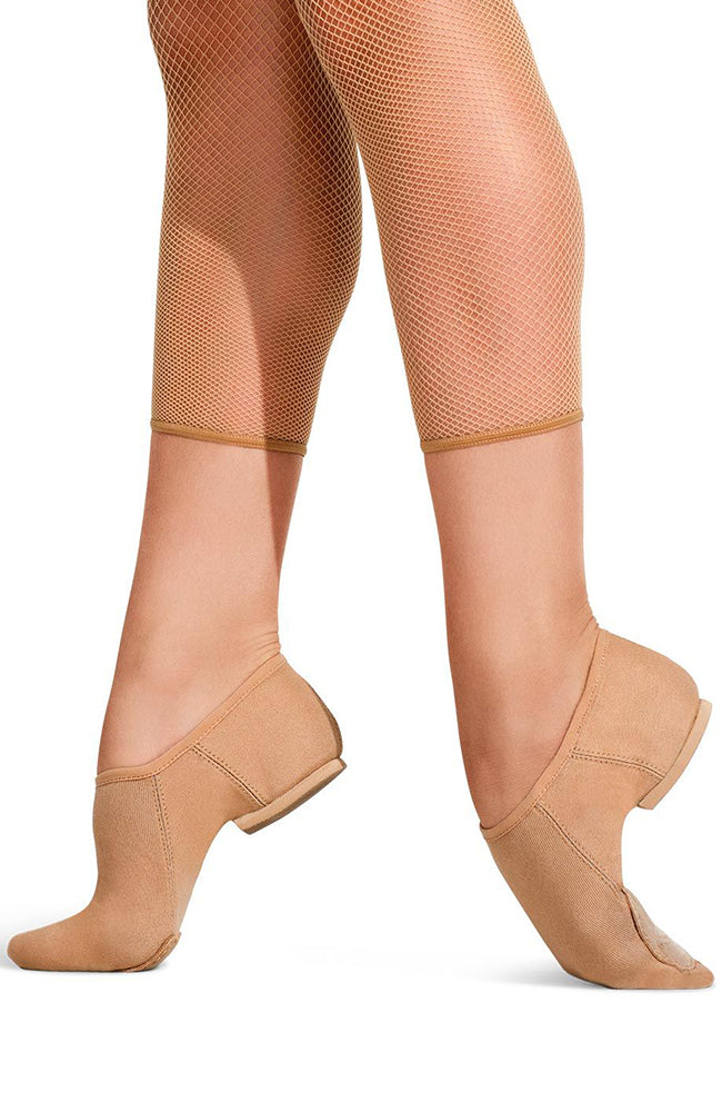 Capezio PP17 Adult Caramel EOS Stretch Canvas Split Sole Jazz Shoes