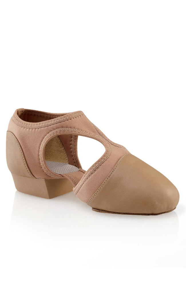 Capezio PP323C Child Caramel Leather Pedini Femme Jazz Shoes