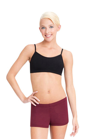 Capezio TB102 Adult Black Camisole Bra Top
