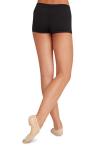 Capezio TB113C Child Black Boy Cut Shorts