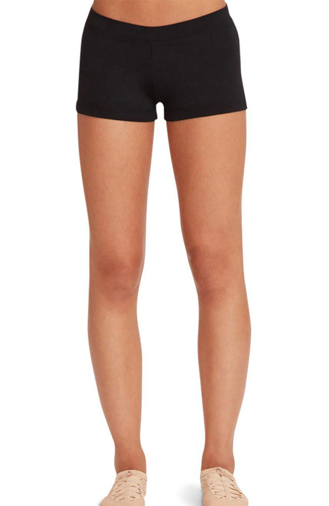 Capezio TB113C Child Low Rise Boy Cut Black Shorts