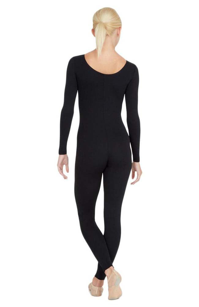 Capezio TB114C Child Black Long Sleeve Unitard