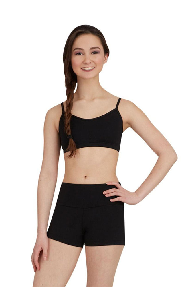 Capezio TB130C Child Black Gusset Dance Shorts