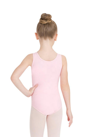 Capezio TB142C Child Pink Tank Bodysuit