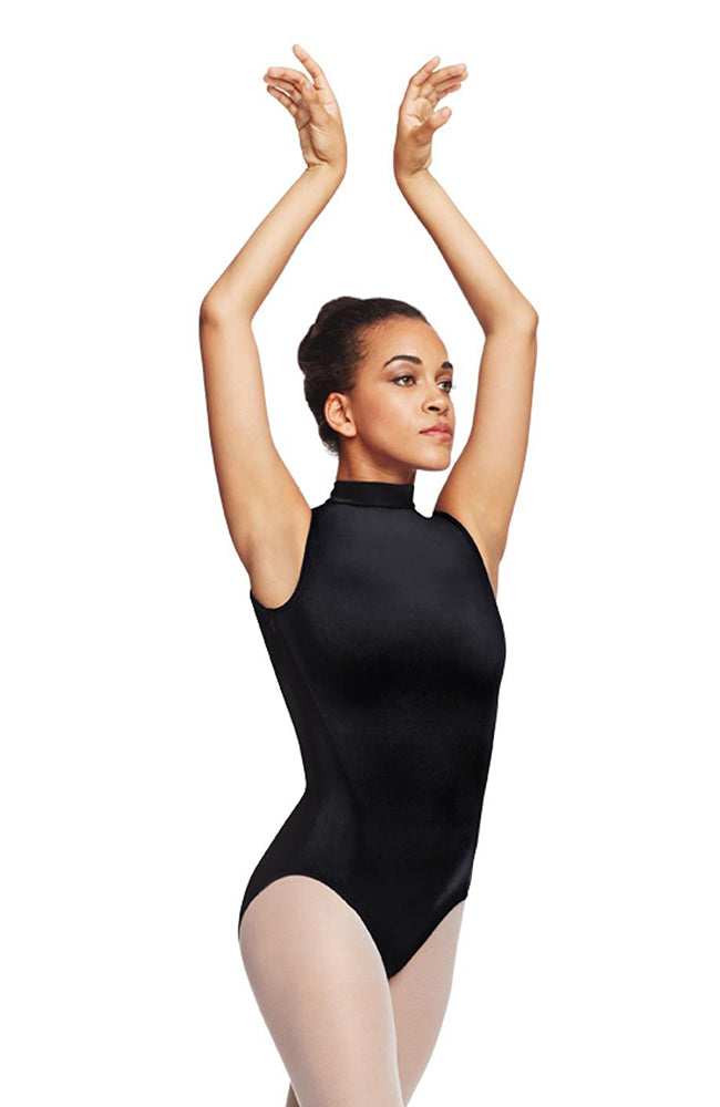 CapezIo TC0048W Adult Polo Neck Bodysuit