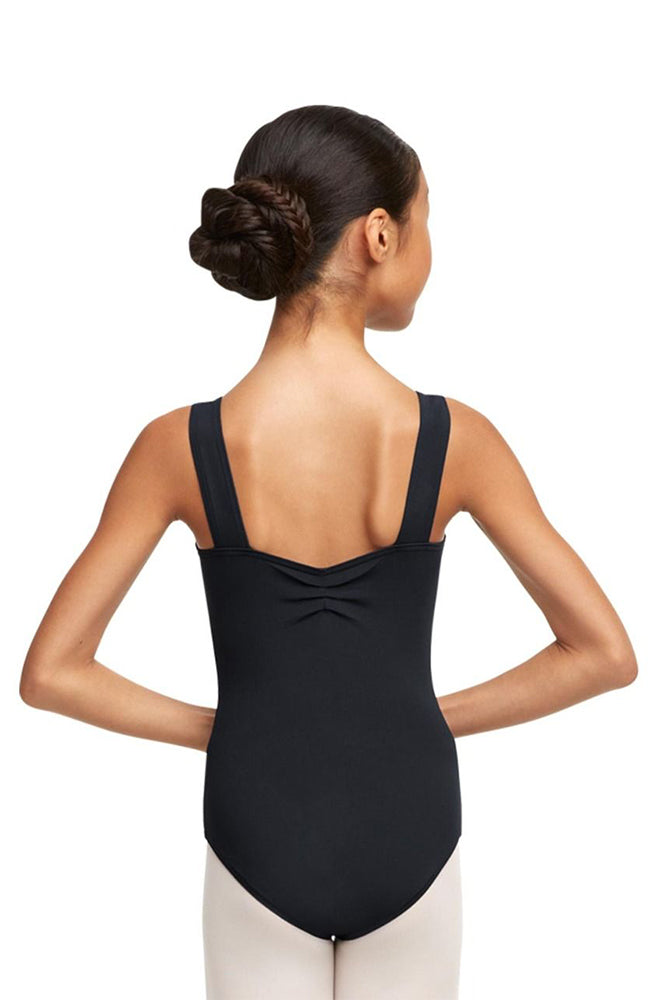 Capezio TC0053W Adult Pinch Front and Back Tank Bodysuit