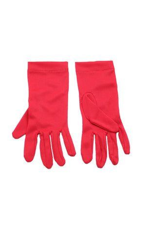 Child Nylon Gloves B1 Red
