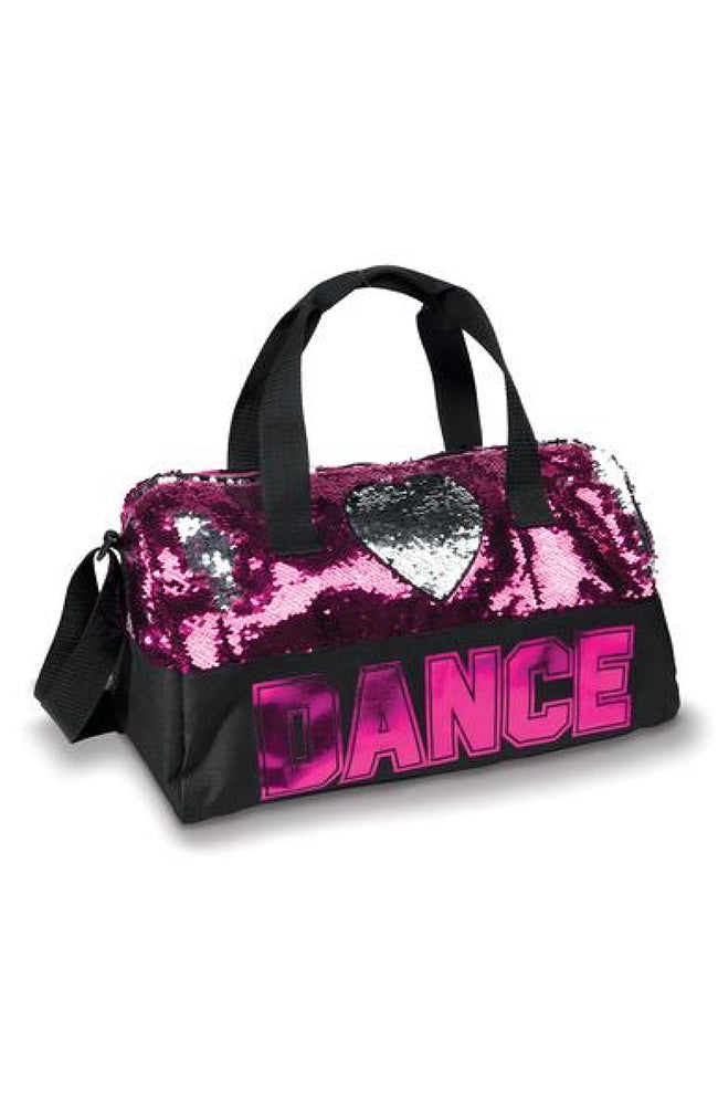 Danshuz B842 Pink Sequin Dance Bag