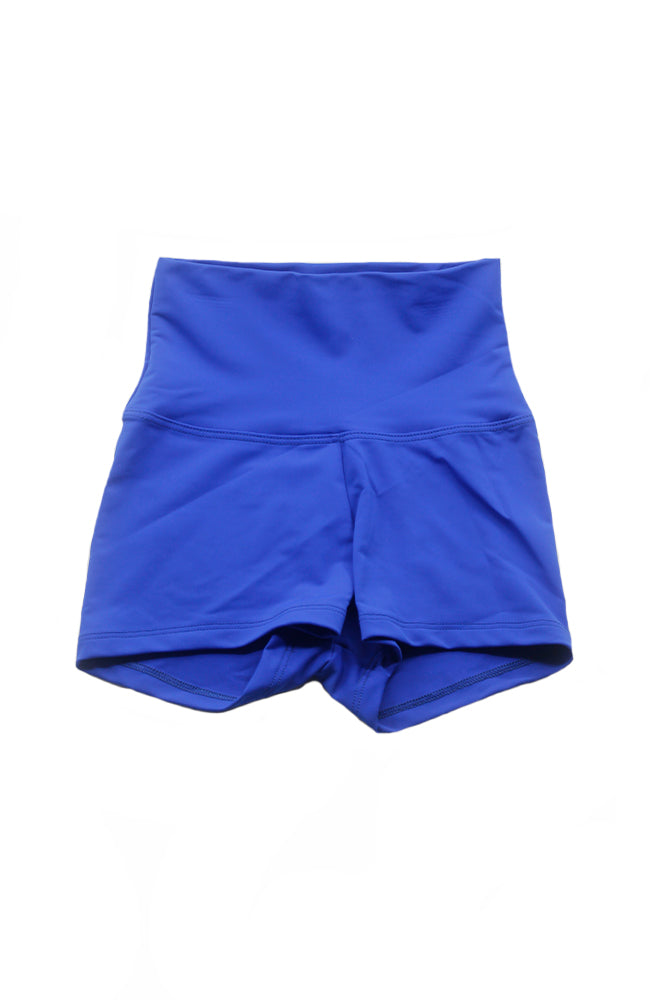 Danshuz Danz N Motion 251A High Waist Shorts Royal