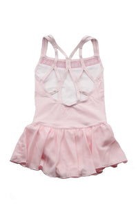 Danshuz DanzNMotion 19201C Camisole Dress With Embroidery Pink Back