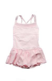 Danshuz DanzNMotion 19201C Camisole Dress With Embroidery Pink Front