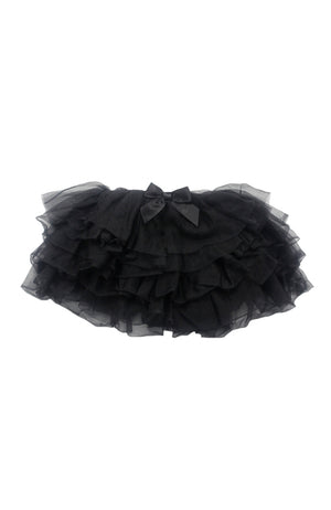 Danz N Motion Danshuz 615-B Layered Soft Tutu Black