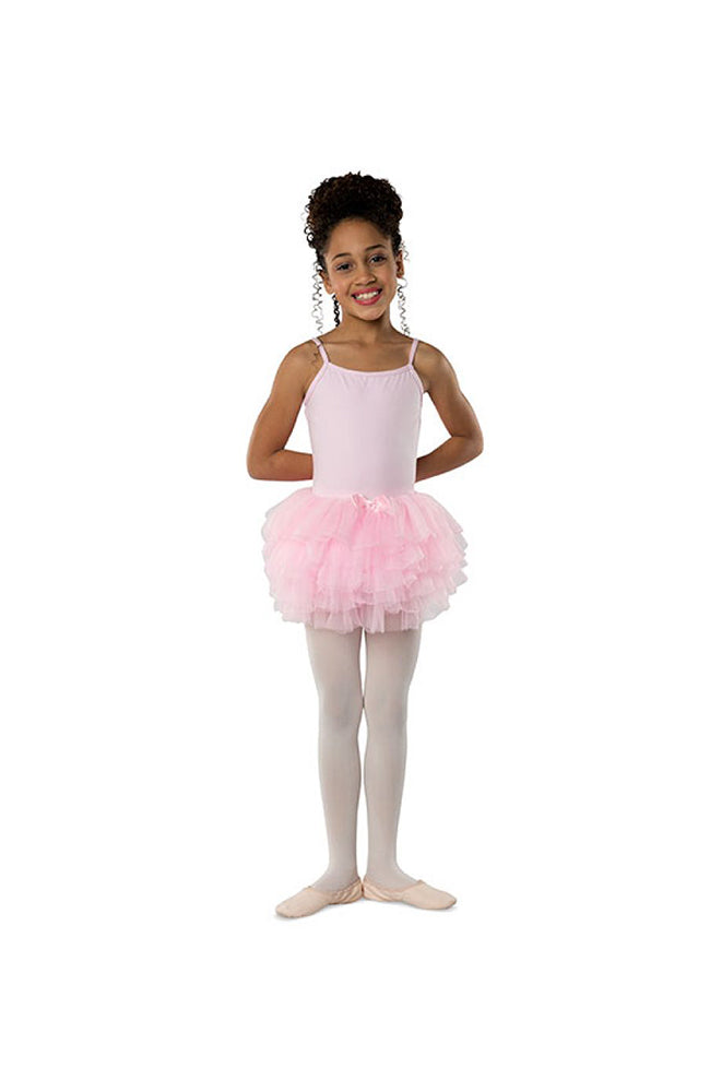 Danshuz Danz N Motion 615-B Layered Soft Tutu Skirt Pink