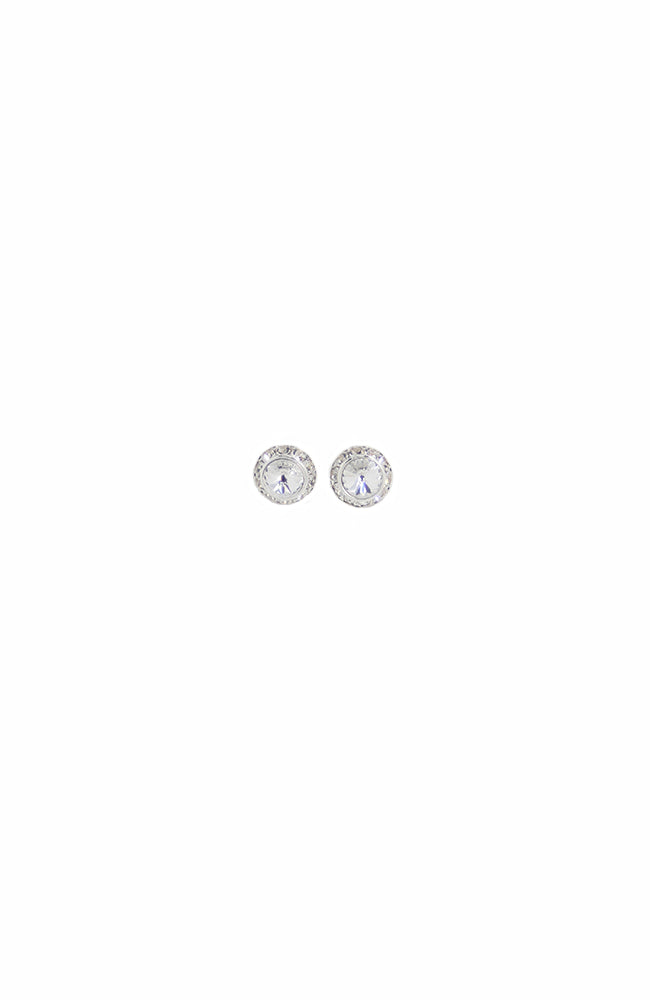 Dasha Round Swarovski Earrings