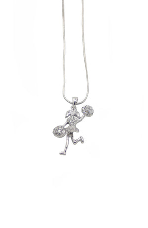 Dasha 2787CR Cheerleader Necklace Clear