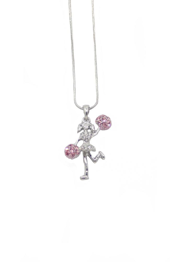 Dasha 2787PK Cheerleader Necklace Pink