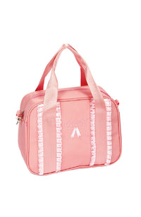 Dasha 4906 Frill Ribbon Square Tote Pink