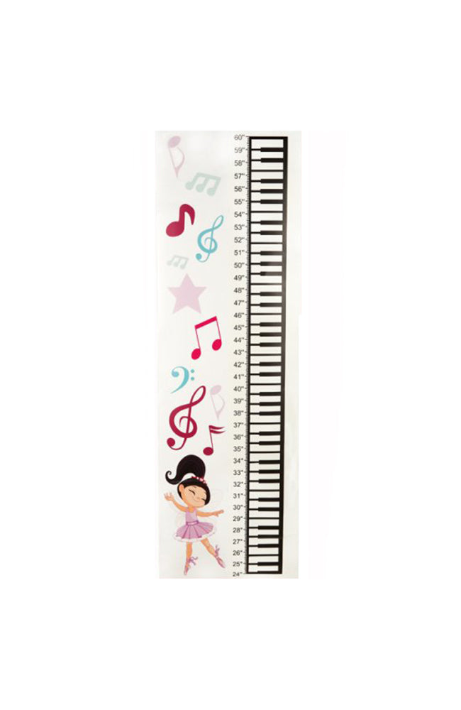 Dasha 6417 Growing Dancer Height Chart Wall Sticker