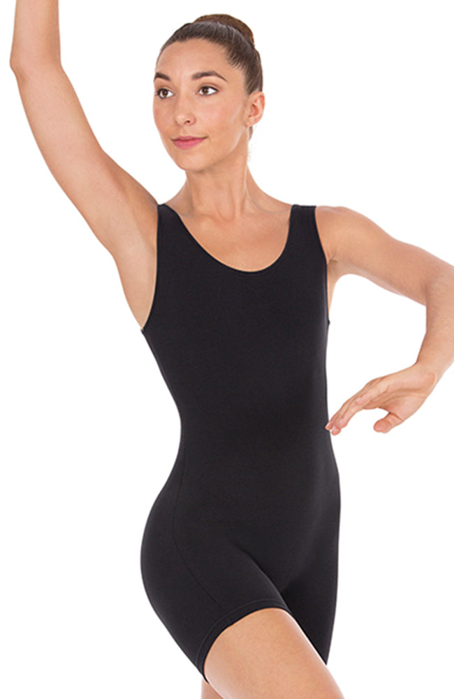 Eurotard Adult Size Black Tank Unitard