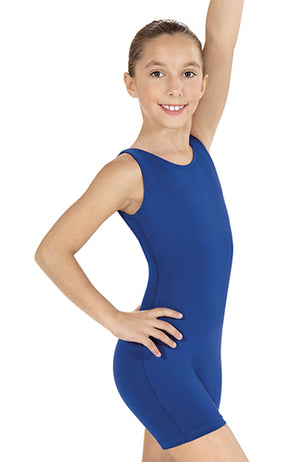 Eurotard 10350 Child Royal Blue Sleeveless Biketard