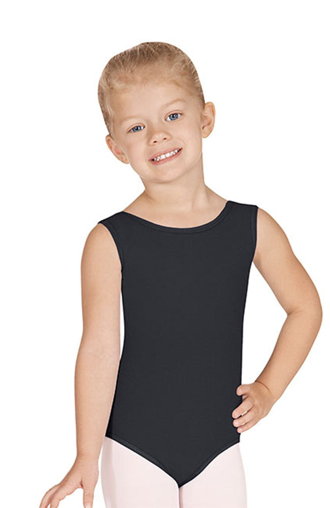 Eurotard 4489 Child Black Tank Bodysuit