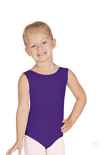 Eurotard 4489 Child Purple Tank Bodysuit