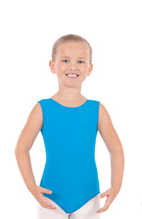 Eurotard 4489 Child Turquoise Tank Bodysuit