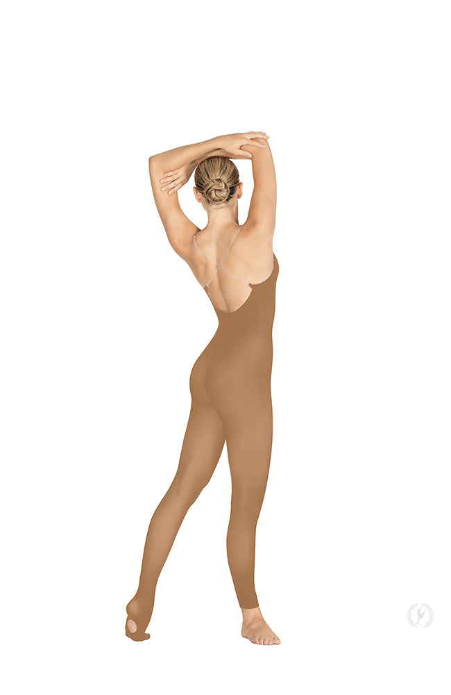 Eurotard 95704 Adult Tan Bodytight with Convertible Foot