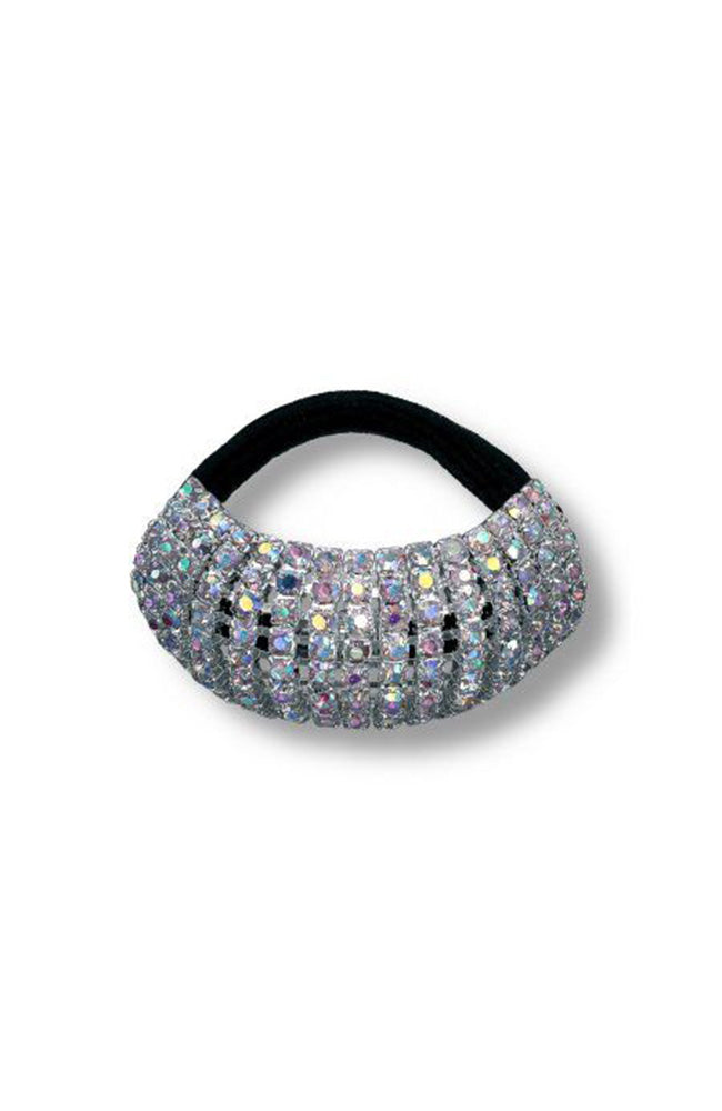 AB Rhinestone Stretch Ponytail Holder