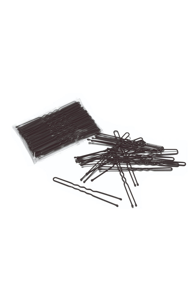 FH2 AZ0028 3 Inch Hair Pin Black