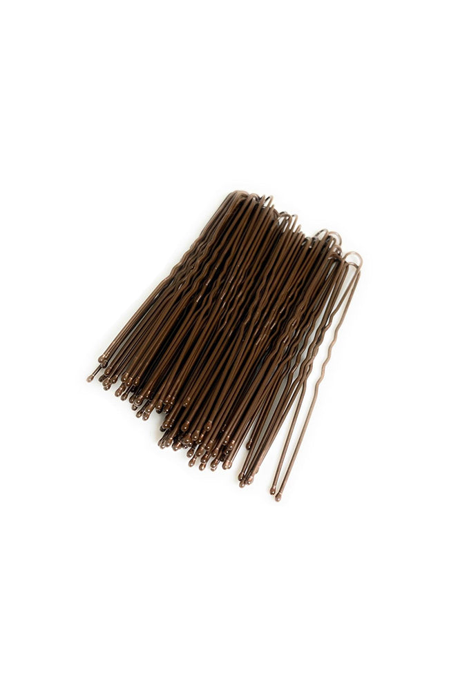 FH2 AZ0028 3 Inch Hair Pin Brown