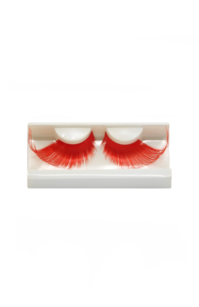 FH2 Bold Colour Stage Eyelashes Red