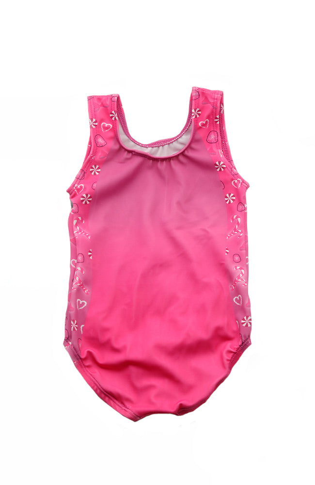 GK E3168 Candy Tank Gymnastic Bodysuit Back