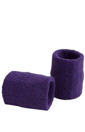 GK Elite Sportswear Purple Gymnastics Wristbands