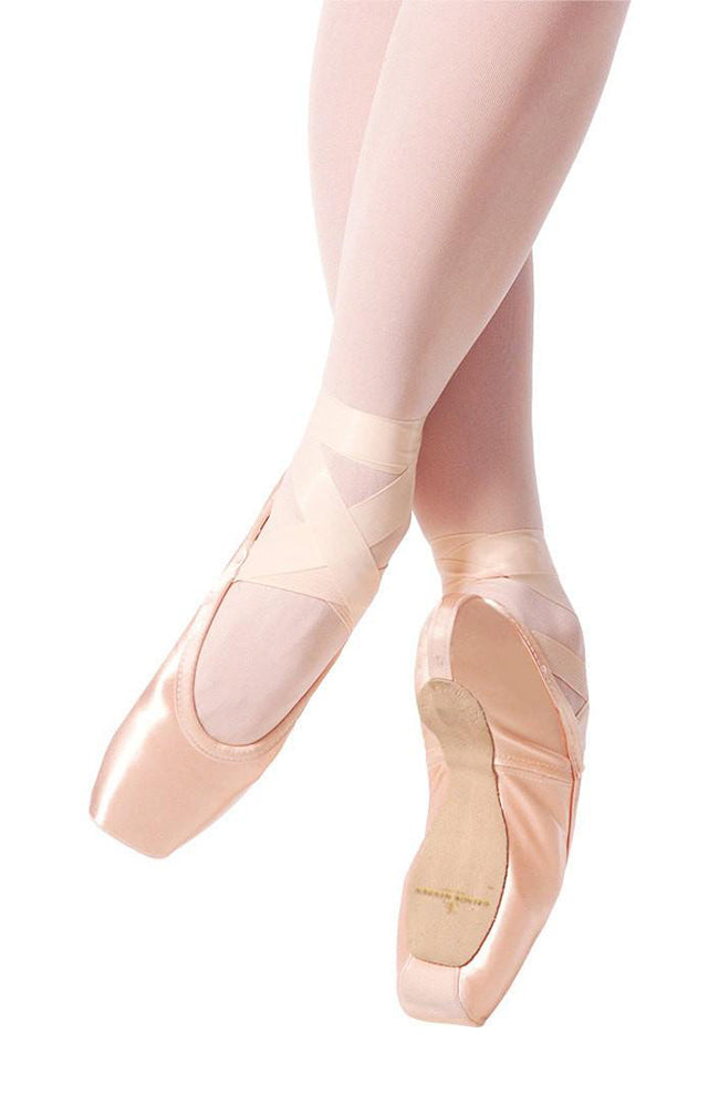 Gaynor Minden Sculpted Pointe Shoes with Low Heel