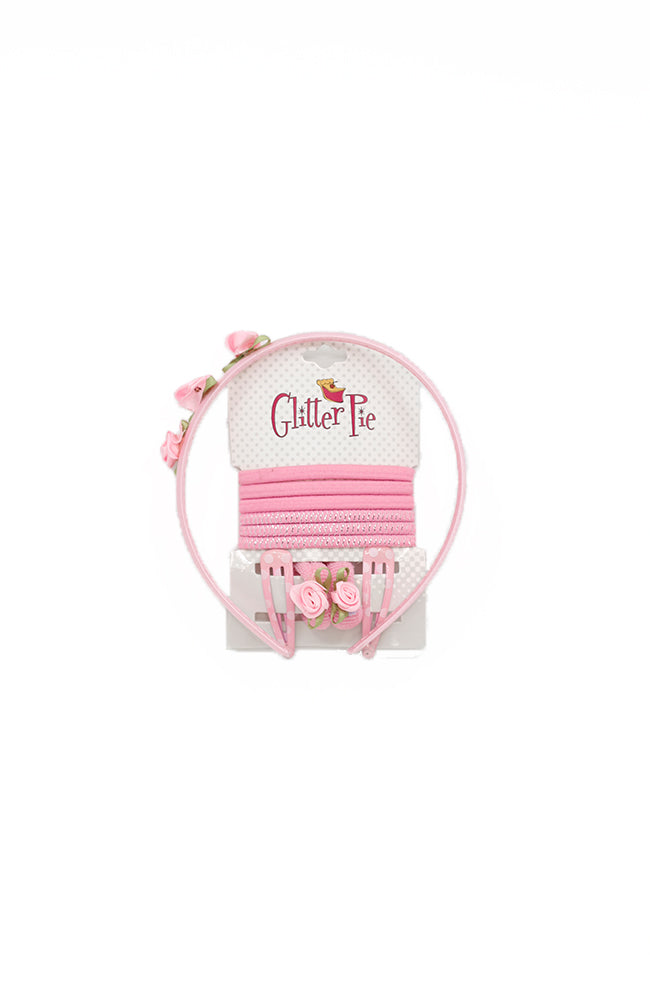 Glitter Pie HTS06 Headband Pack Pink
