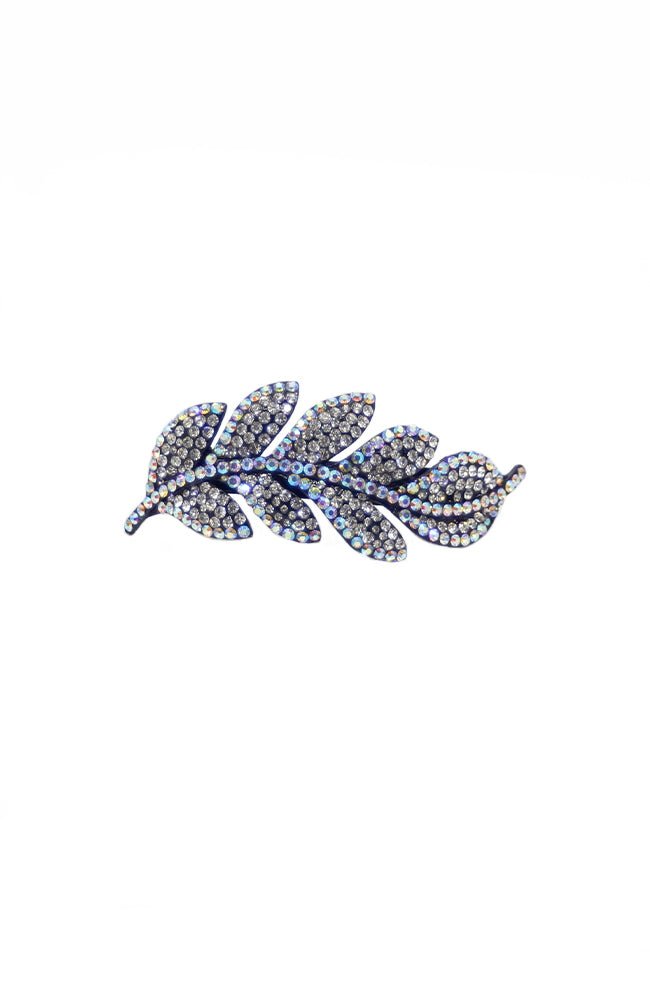 Glitter Pie Fern Barrette