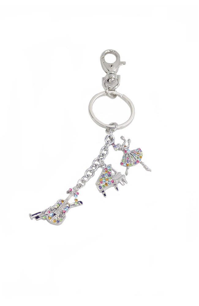 Dance and Music Keychain