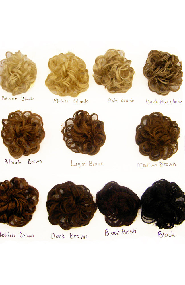 Hair Piece Colour Chart