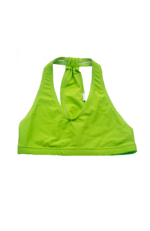 Heart & Soul DA502 Fashion Dance Bra Top Lime