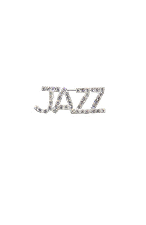 Jazz Rhinestone Pin