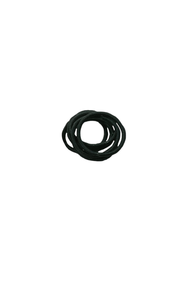 Kissed By Glitter DS019 Hair Elastics Black