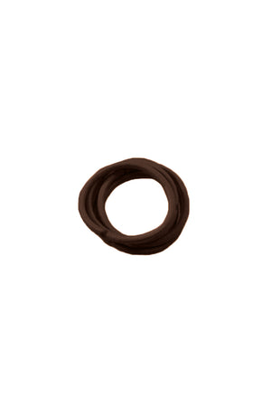 Kissed By Glitter DS020 Hair Elastic Brown