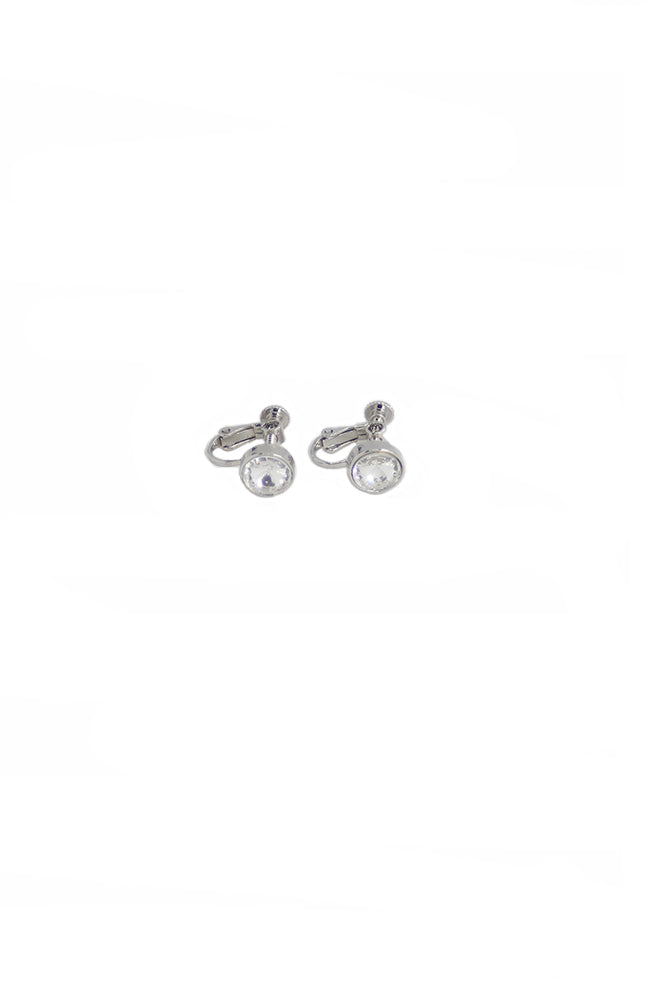 Clip On Single Stud Earring
