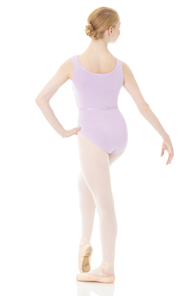 Mondor 1645 RAD Approved Lilac Tank Bodysuit Back